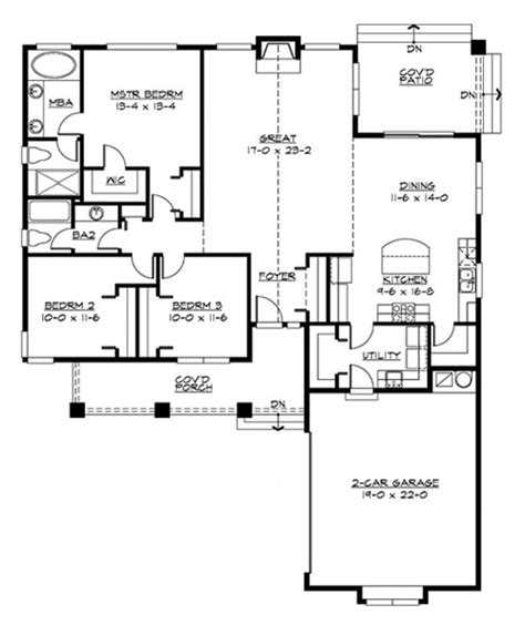 hayden 3243 3 bedrooms and 2 5 baths the house designers