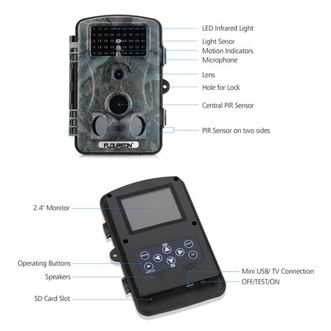 1080p hd 12mp waterproof trail scout home