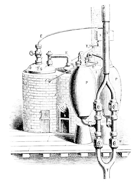 savery s steam engine diagram images