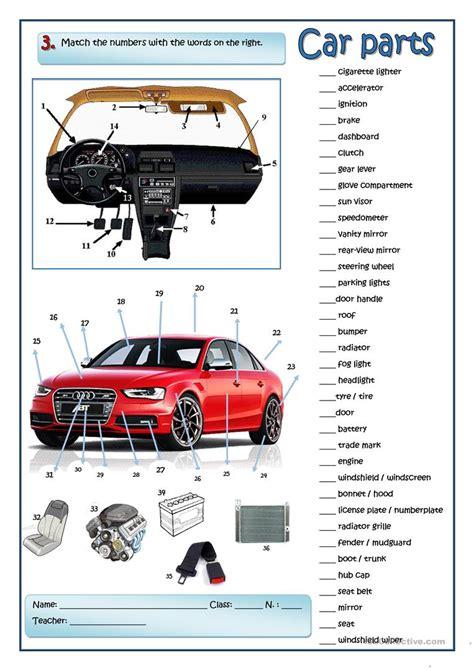 Auto Mechanic Worksheets by A Car Mechanic Worksheet Free Esl Printable Worksheets