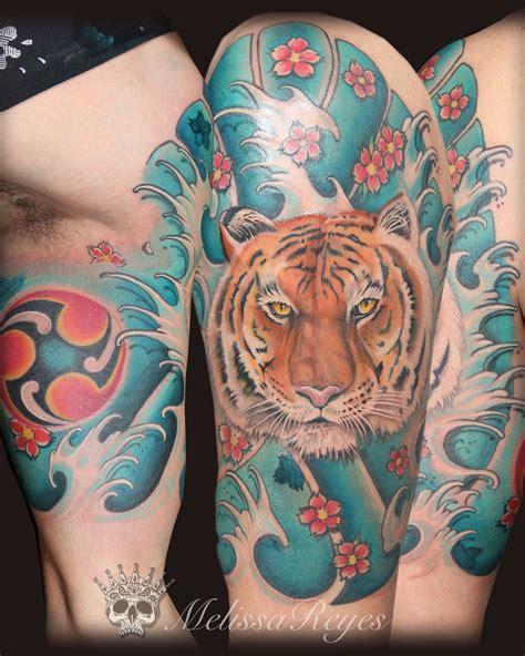 tattoo oriental estilos tatuaje estilo japon 233 s con un tigre melissareyes