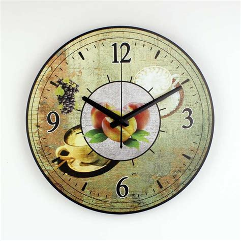 home decor clock coffee decorative wall clock home decor waterproof clock
