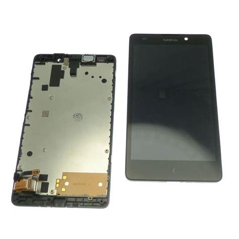 Lcd Nokia Xl ecran vitre tactile et lcd assembl 233 s sur chassis nokia xl
