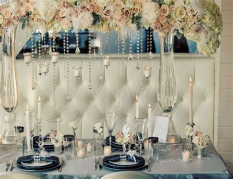 winter wedding ideas table setting click pic