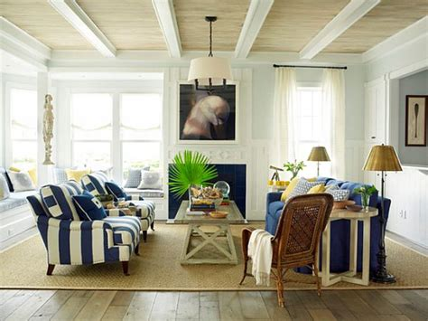 coastal style living room home interior design bright and inviting beach house by phoebe howard