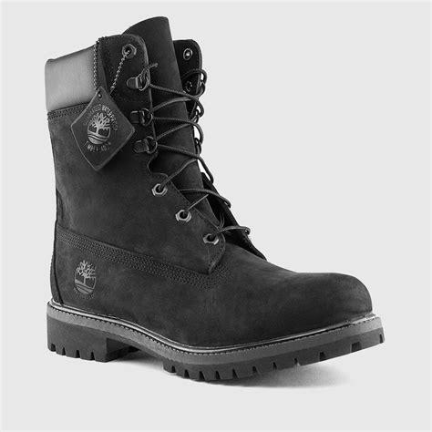 timberland s 8 inch premium waterproof boots black