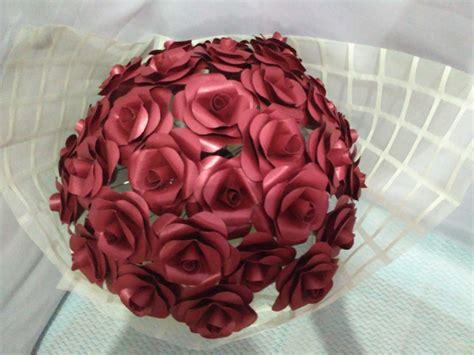 Harga Kertas by Jual Buket Bunga Kertas Isi 40 Bouquet Bunga Kertas