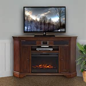 corner tv stand and fireplace harmony corner audio tv stand with fireplace delmont