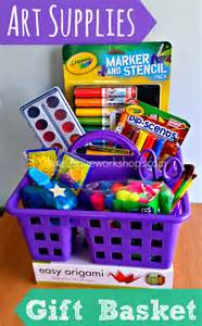 ordinary Good Gifts For Housewarming Party #3: art-supplies-gift-basket.jpg