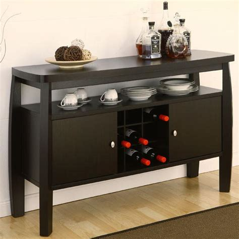 brenton dark espresso buffet server cabinet 24 7 shop at