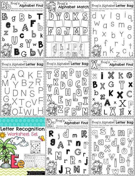 worksheets alphabet recognition letter recognition worksheets free alphabet tracing