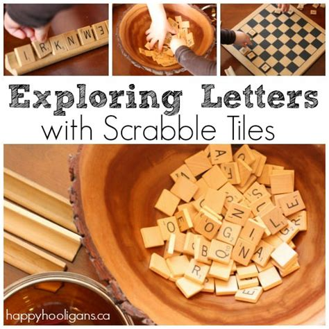 where can you buy scrabble letters scrabble tiles for learning letter activities for
