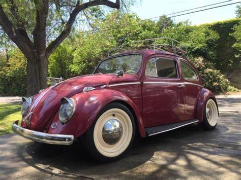 Volkswagen Car Types by 1963 Volkswagen Beetle Type 1 Classic Vw Beetle
