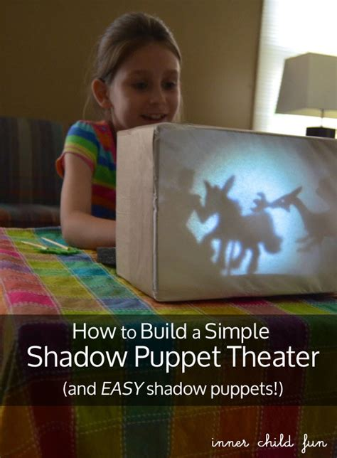 build  simple shadow puppet theater lesson plans