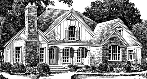 Southern Avenues House Plans Sara S Place Southern Avenues Southern Living House Plans