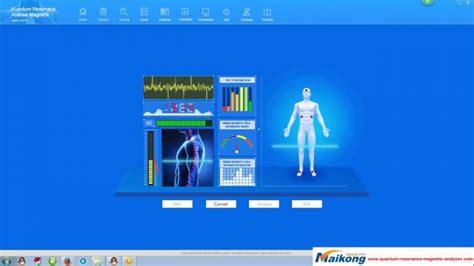 Alat Quantum Resonance Magnetic Quantum Magnetic Resonance Analyzer Freeware Quantum
