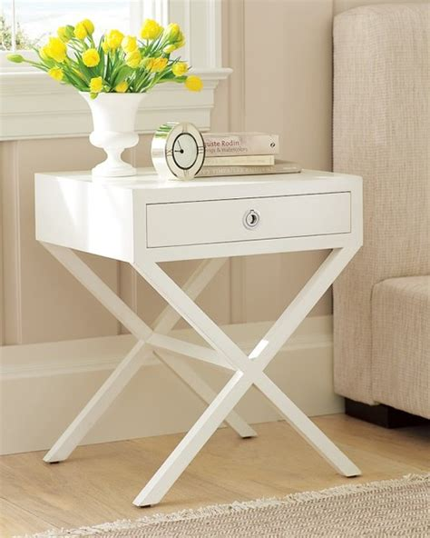 white bedroom table white bedside table 187 inoutinterior