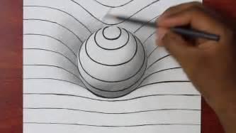comment dessiner une sph 232 re en 3d illusion doptique