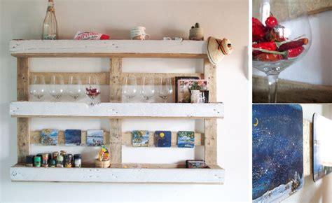 mensole fai da te legno riciclo creativo dei bancali di legno il tutorial per una