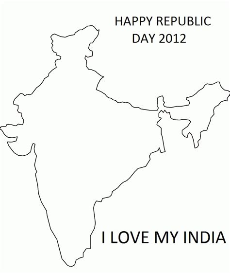 coloring pages of india map india map coloring page coloring home