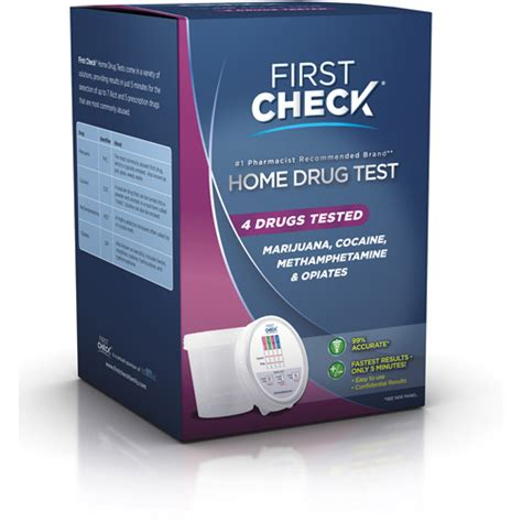 check home test 4 drugs tested walmart