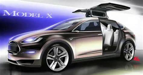 tesla minivan tesla motors unveils model x electric minivan suv pics