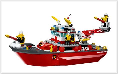 fire boat games lego city fire boat