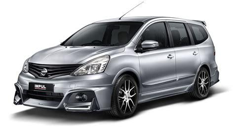 Cermin Belakang Nissan Grand Livina pakej impul untuk nissan grand livina kini ditawarkan di malaysia harga bermula dari rm12 800