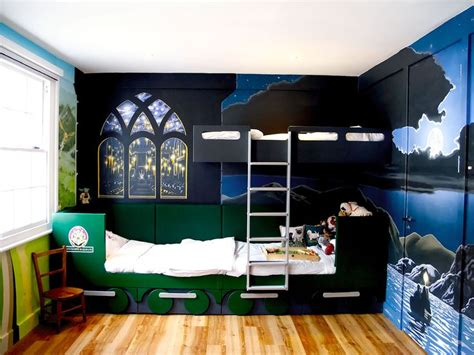 hogwarts wall mural 17 best images about harry potter mural in boys bedroom