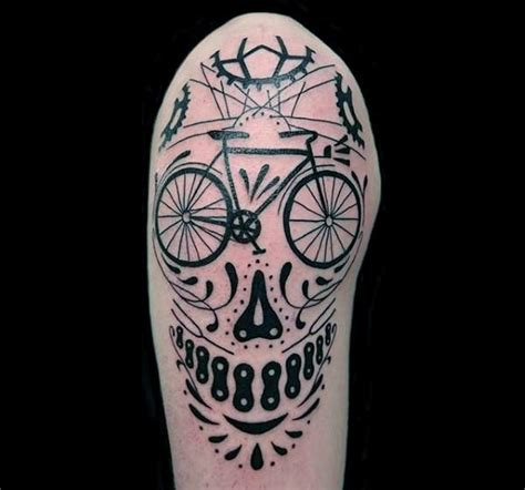 70 bicycle tattoo designs for men masculine cycling ideas