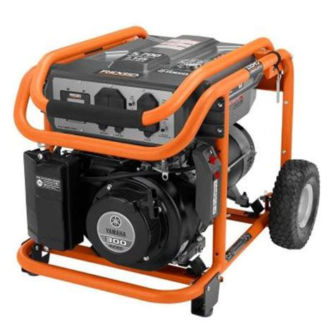 ridgid 5 700 watt gasoline powered portable generator with