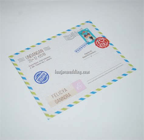 Cetak Undangan Java Kode Js 012 undangan perkawinan post card jv js20 banjar wedding banjar wedding