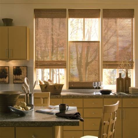 kitchen bamboo curtains for the home pinterest