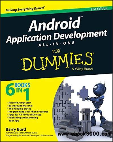 app design dummies android application development all in one for dummies