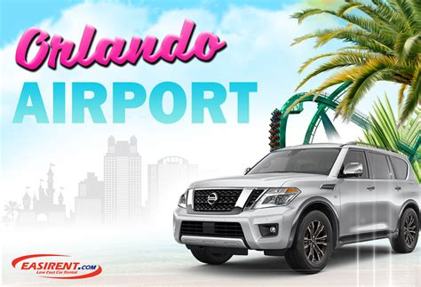 car rental orlando international airport mco easirent