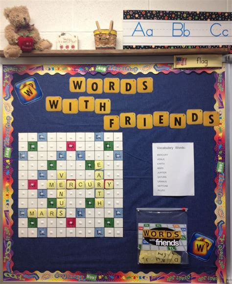 interactive scrabble board interactive vocabulary bulletin board image only