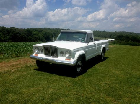 jeep gladiator 1966 1966 jeep gladiator j3000 4x4 truck vintage condition 50th