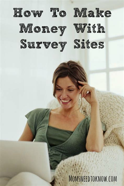 Best Survey Sites To Make Money - how to make money with survey sites moms need to know