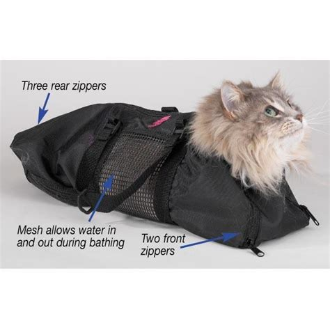 Cat Bag cat grooming bag restraint bathing cut nails no biting