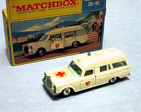 matchbox mercedes mercedes benz ambulance k6 k 26 k 63 matchbox cars