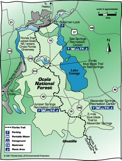 florida trail maps modern florida cracker tales of living in the ocala