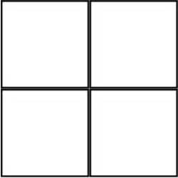 square outline 4 squares polyvore