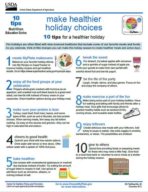 education tips myplate 10 tips make healthier choices