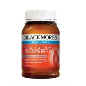 Promo Blackmores Total Calcium Magnesium D3 200 Tablet Glucosamine calcium channel blockers