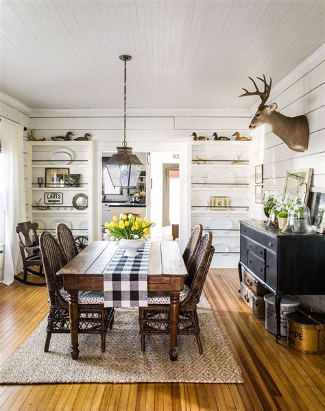 farmhouse dining room 18 vintage decorating ideas from a 1934 farmhouse