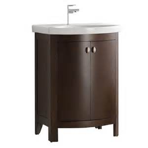 Bathroom Vanity Home Depot Fresca Niagara 24 In W Traditional Bathroom Vanity In Antique Coffee With Vanity Top In White