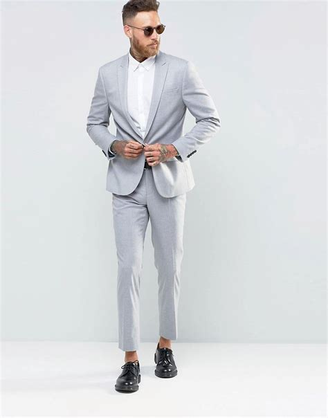 light grey slim fit suit 25 best ideas about slim fit suits on