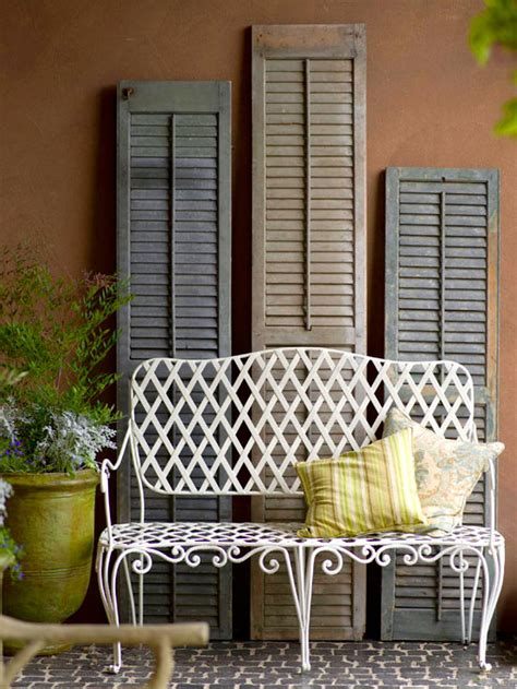 Decorating Ideas Using Shutters 25 Repurposed Shutter Decorating Ideas The Cottage Market