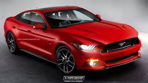 2015 ford mustang becomes four door sedan autoevolution