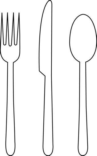 Tableware Line Art Transitional Kindergarten Pinterest String Art Art And Spoon Fork Template Printable